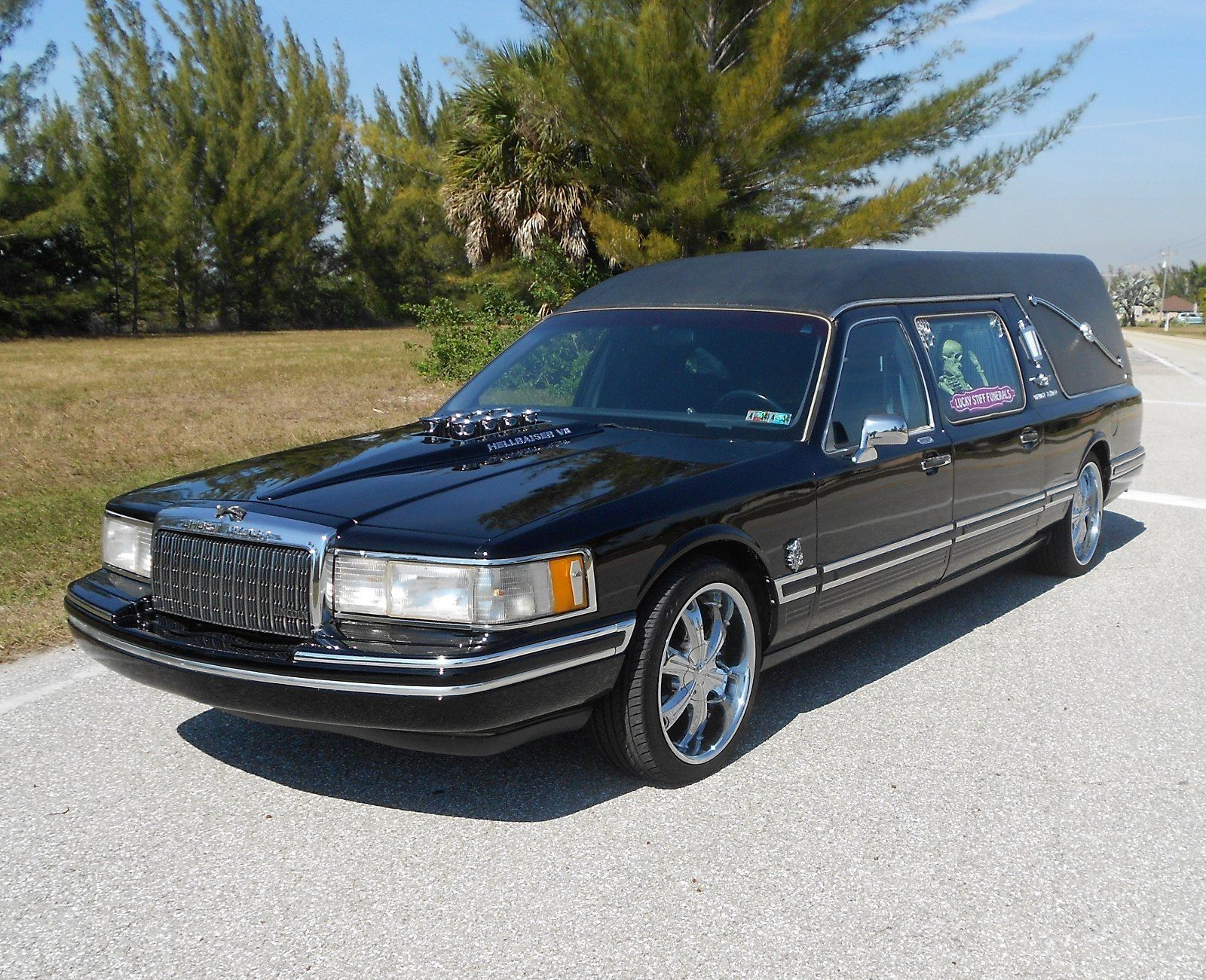 1994 Lincoln Town Car Hot Rod Hearses For Sale Pinterest