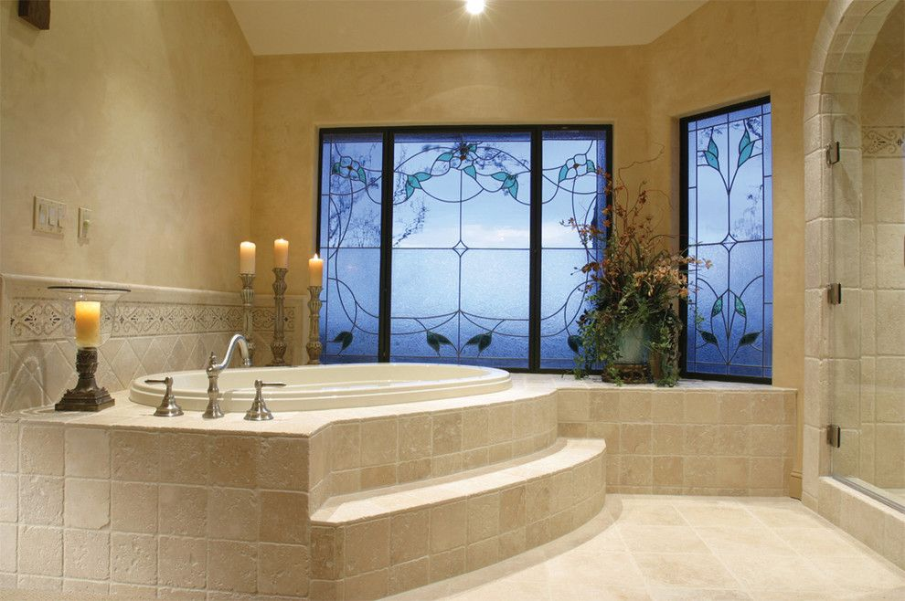Natural Stone Travertine Bathroom