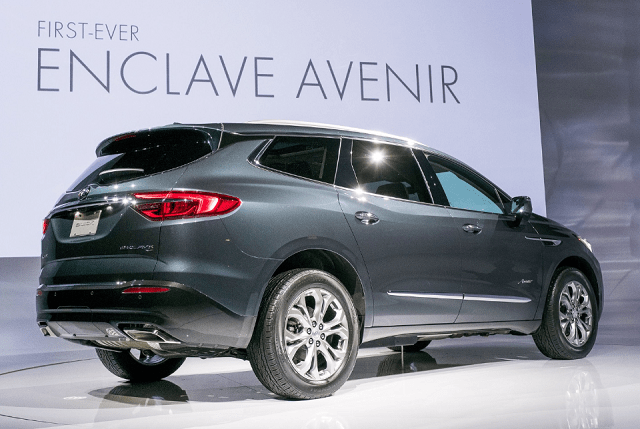 2019 Buick Enclave Rear View Buick Enclave New Suv Suv Models