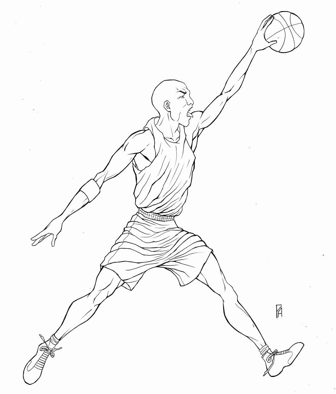 Basketball Player Coloring Sheet Lovely Jordan Coloring Pages In 2020 Coloring Pages Coloring Pages Inspirational Color
