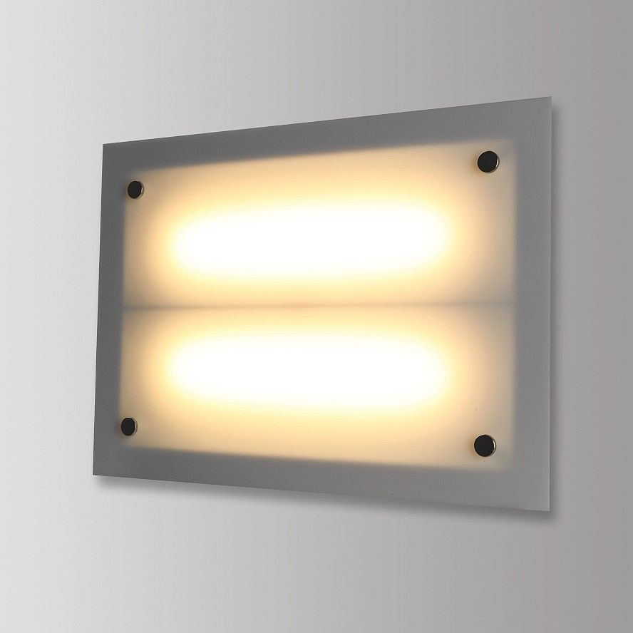 Nightlife Weiss, inkl. 2x LED 1100lm 830 9,1W, inkl. LED-Konverter nicht dimmbar - Innenleuchten