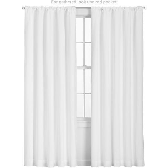 abb95ea81388 Wallace White Curtains