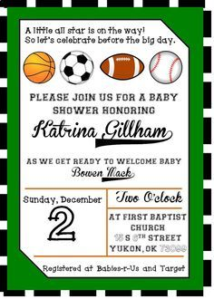 Nice free template free printable sports birthday invitations baby nice free template free printable sports birthday invitations filmwisefo