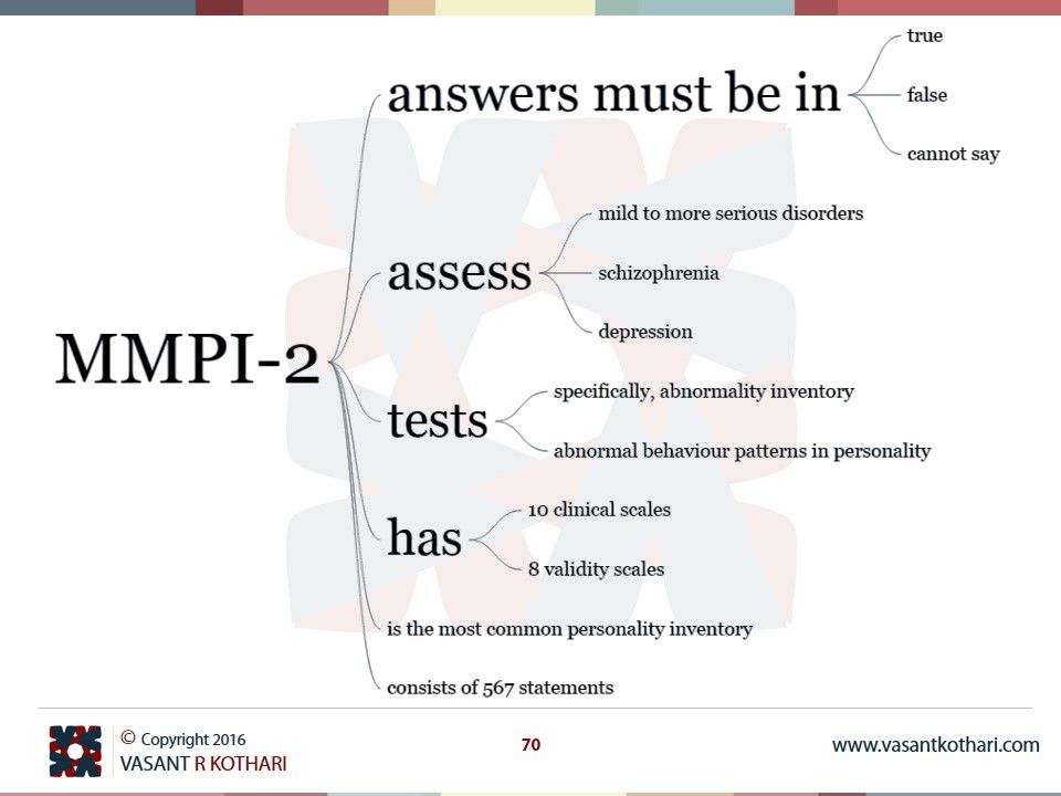 Mmpi Is The Most Common Personality Inventory Mmpi Tests