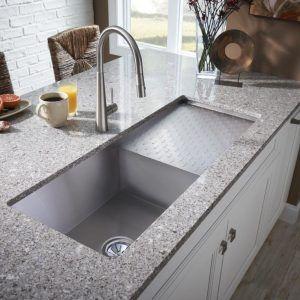 Oversized Kitchen Sink Drain
