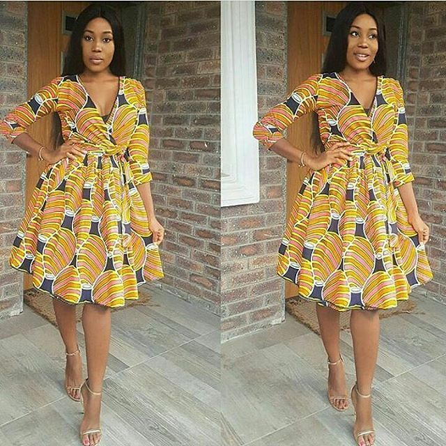 Charming Latest Ankara Short Gowns 2018 for Stylish Ladies | My ...