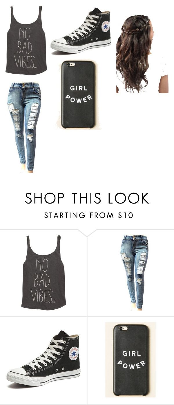 """Simple Love"" by mcuriel22 ❤ liked on Polyvore featuring Billabong and Converse"