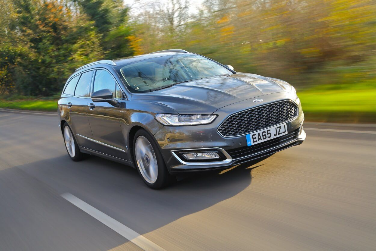 On The Road In The Luxury Mondeo Vignale Ford Ford Mondeo Luxury
