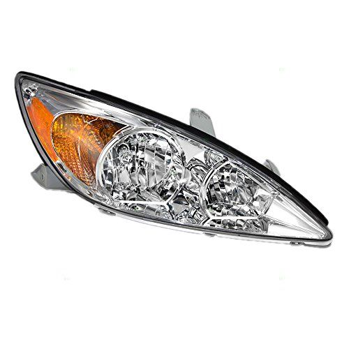 Passengers Headlight Headlamp With Chrome Housing Replacement For Toyota 81110aa060 Check This Awesome Product By Going To The Affilia Car Hacks Aftermarket Parts Car Lights