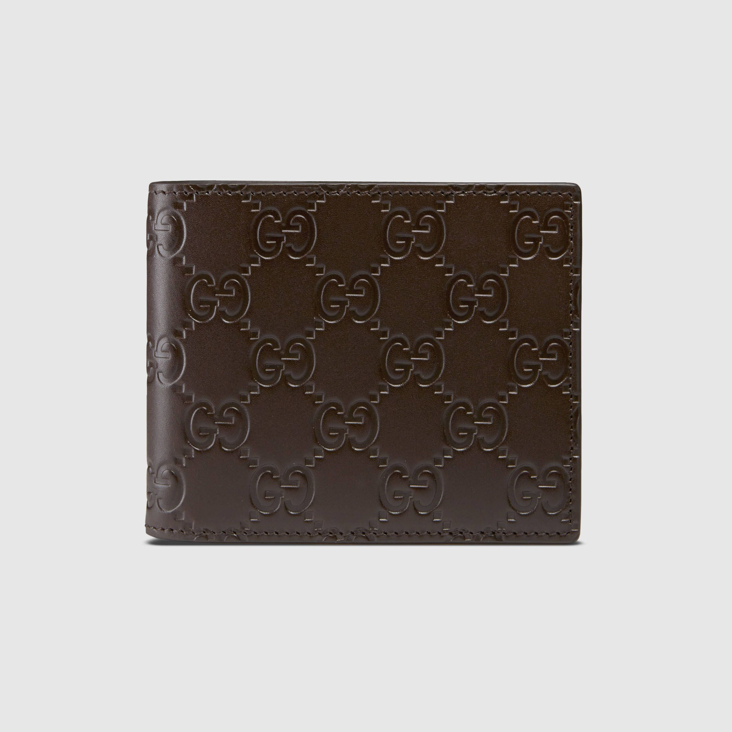 0f15f08d2b1d Gucci Men - Gucci Signature money clip wallet - 368533CWC1N2140 | My ...