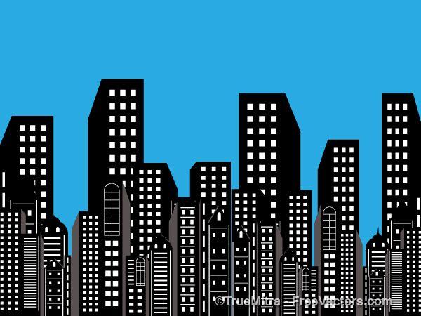 clipart edificio negro - Buscar con Google