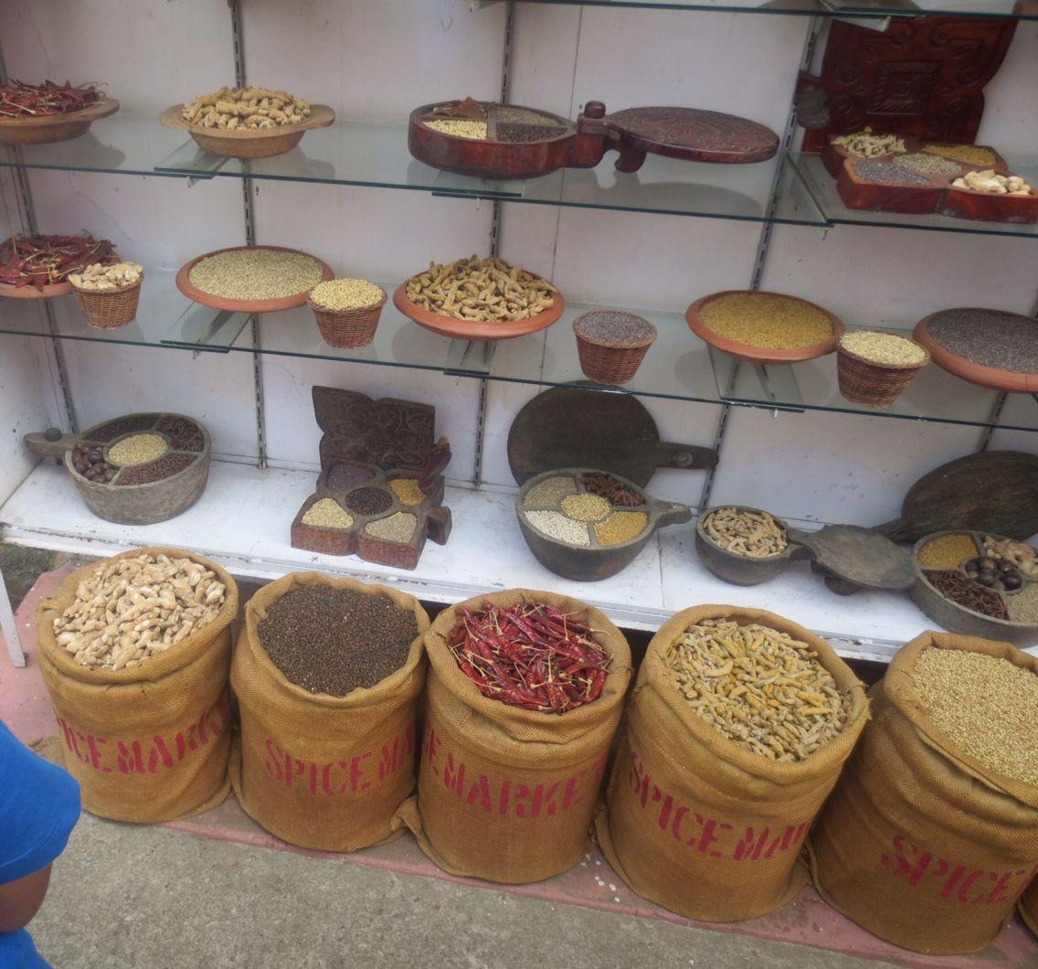 Spice market, Jew Town, Cochin, Kerala Alappuzha, Food