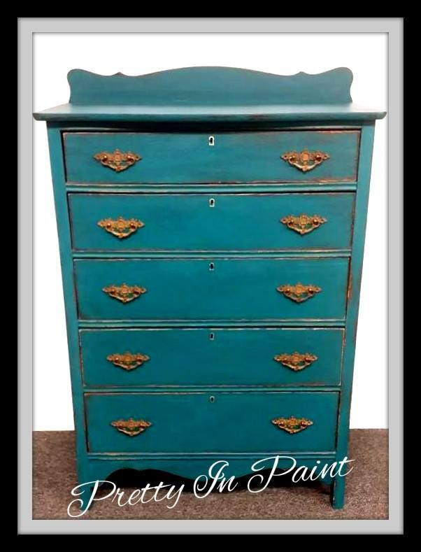 Dresser Painted In Vogue Chalk Acrylic Paint Shabbypaint Chalkacrylic Dressers