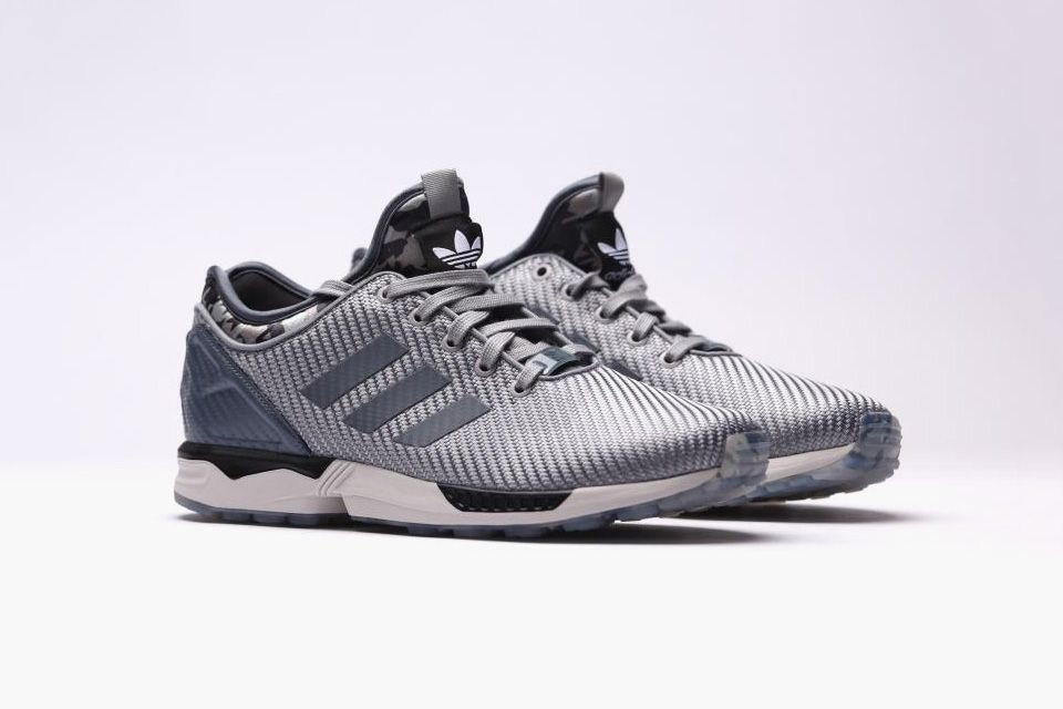 the best attitude a0aca 2a14c Buy cheap Online - zx flux silver,Fine - Shoes Discount for sale