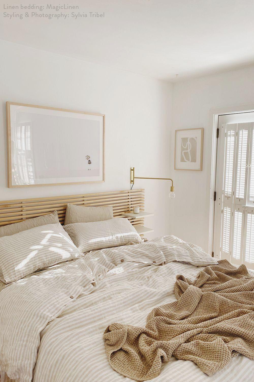 Fresh Linen Sheets by MagicLinen - #bedroominspo