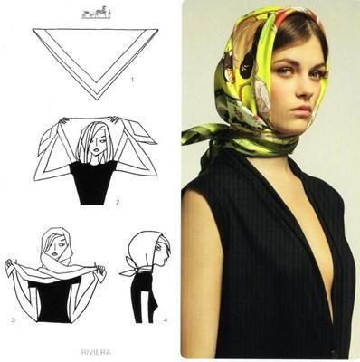 19fd31ab493 A lezione di foulard