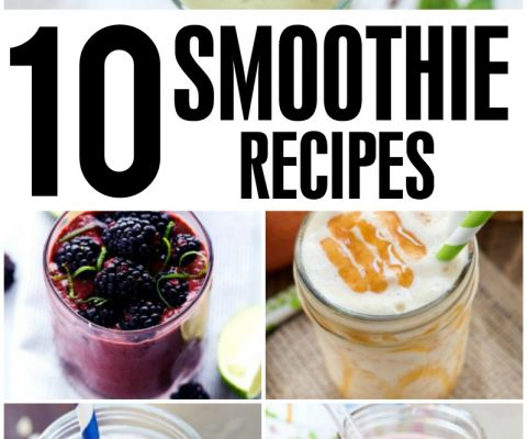 Whether you want an on-the-go breakfast choice, a healthy snack, or a better way to satisfy your sweet tooth, these smoothie recipes should do the trick!