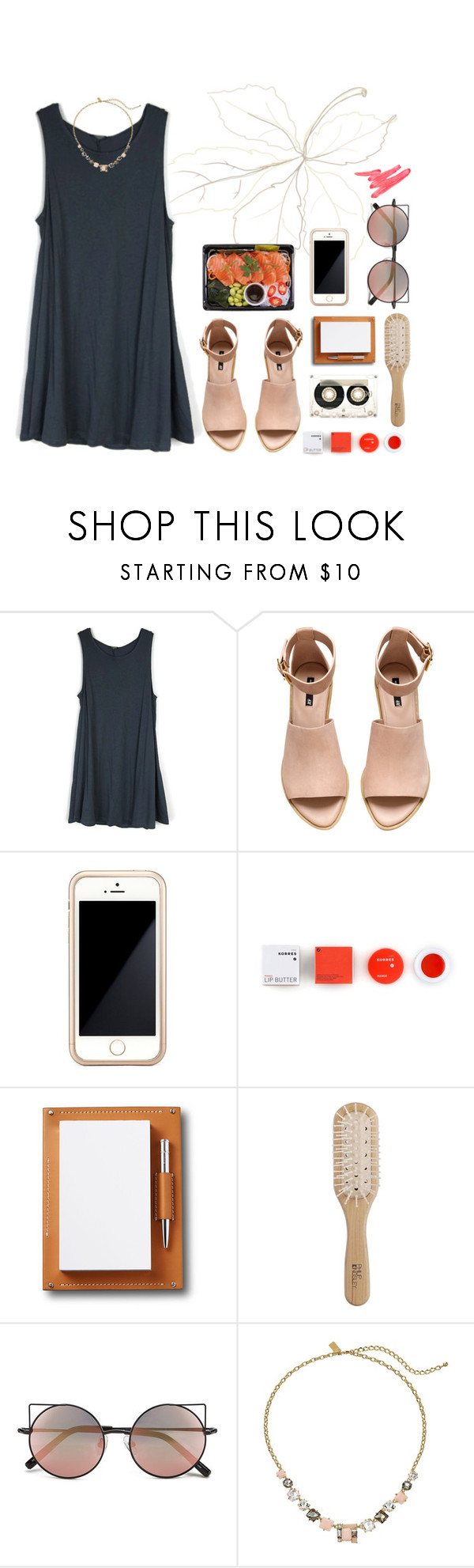 """""""Untitled #42"""" by moisanu-mara ❤ liked on Polyvore featuring H&M, CASSETTE, Squair, Korres, Asprey, Philip Kingsley, Linda Farrow, Kate Spade and Ilia"""