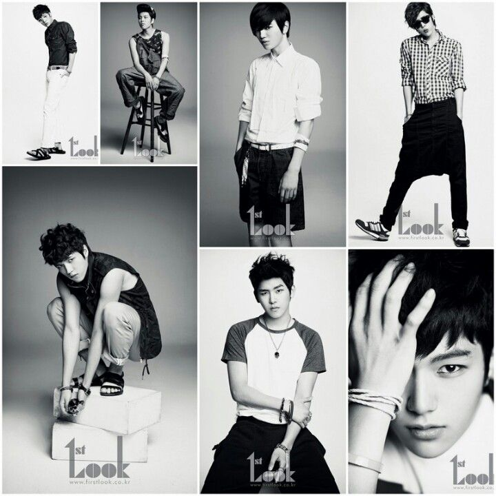 Sungkyu. Dongwoo. Sungyeol. Sungjeong. Woohyun. Hoya. L. I. Love. Them. All!   This is their photoset for 1st Look Magazine. Aren't they 대벅?