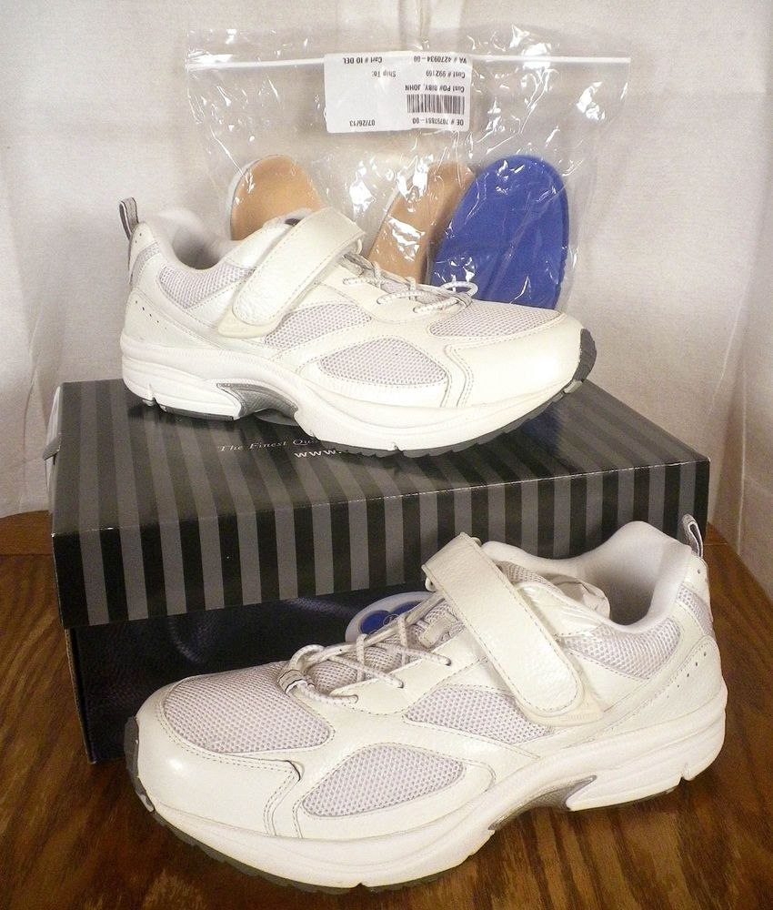 New In Box Mib Dr Comfort White Running Athletic Shoes