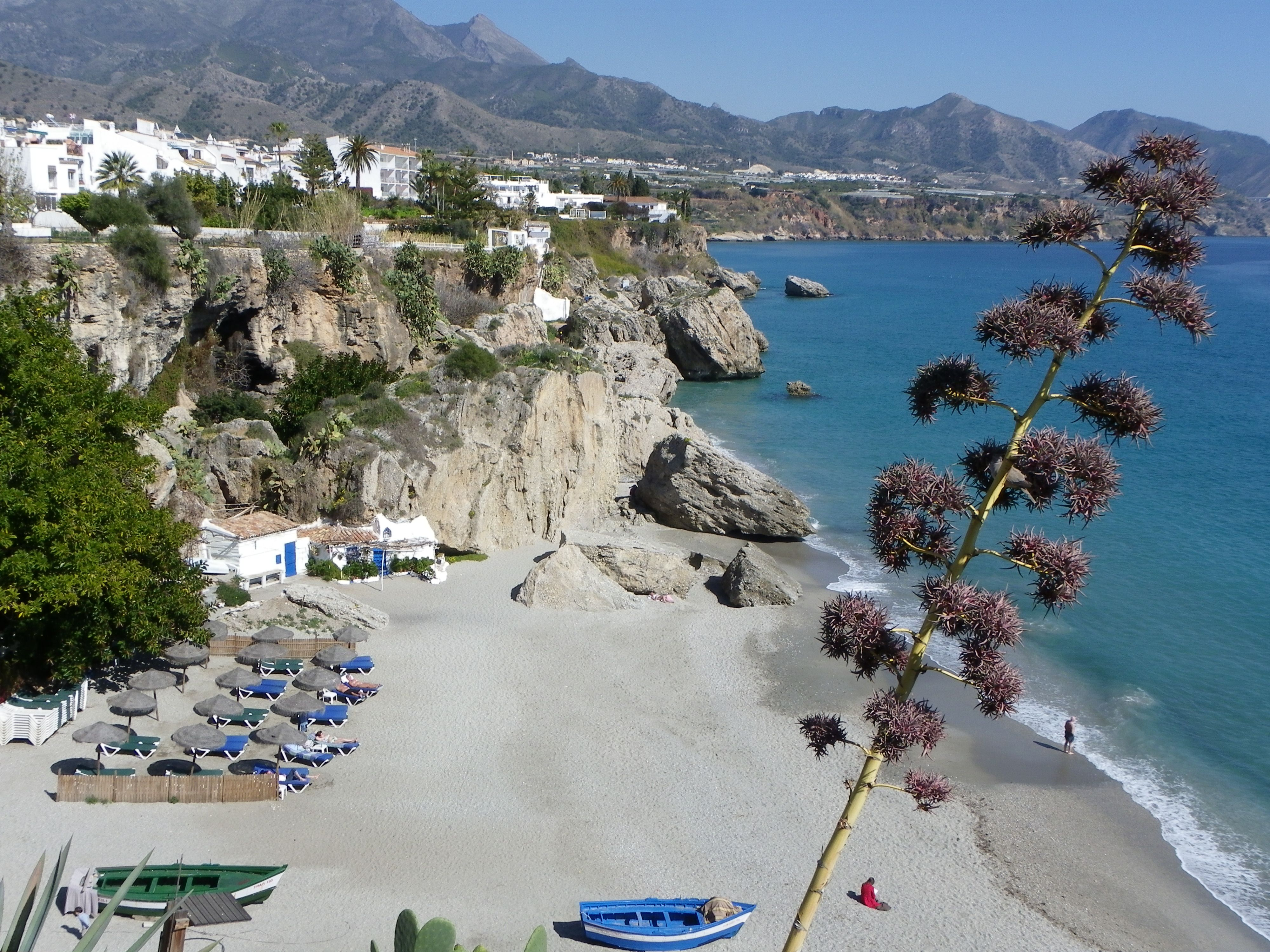 Nerja Malaga Costa Del Sol Andalucia Spain Spain Espa A  # Muebles Hermoso Nerja