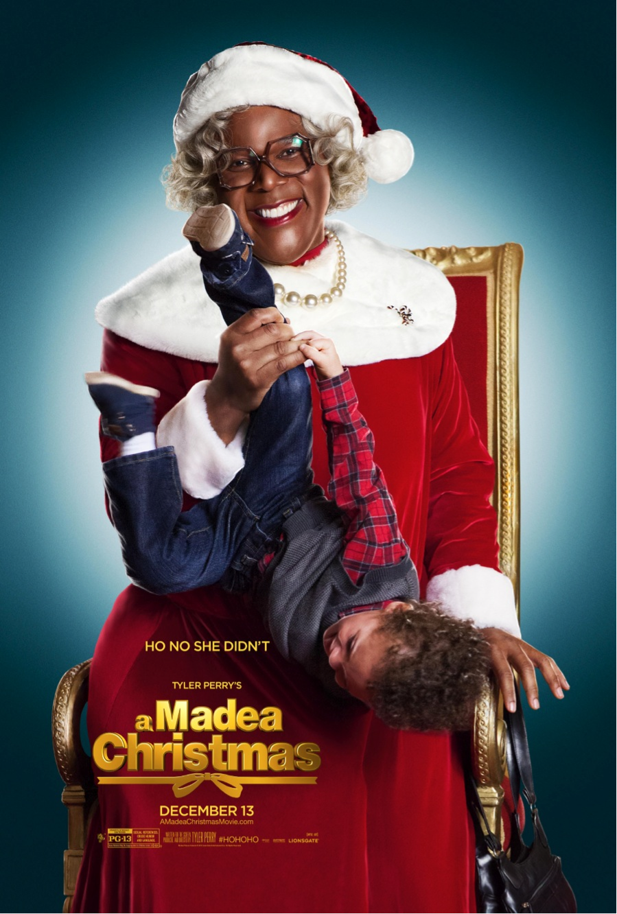 ho no she didnt new teaser poster for tyler perrys a madea christmas starts december 13 hohoho - Madea Christmas Full Movie