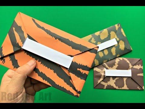 Photo of Easy Origami Envelope Tutorial DIY – Wie man einen Umschlag macht – KEIN KLEBSTOFF