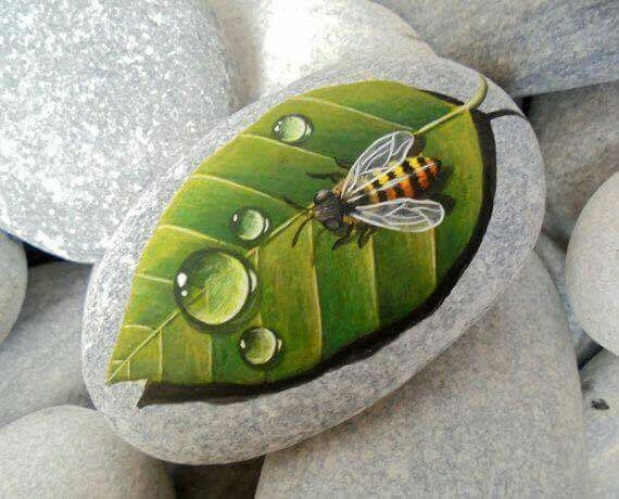 Pin By Serpil Altundoğan On Diy Plaka Farben Stone Art Hand Painted Stones Painted Rocks