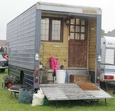 Image result for converting a shipping container into a camper