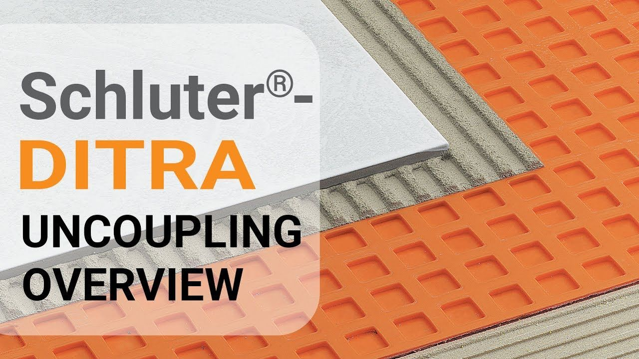 Schluter Ditra Installation Overview Youtube Installation Membrane Concrete