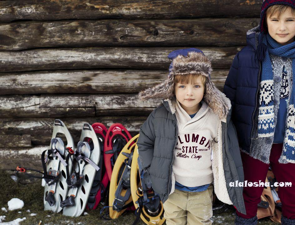 ALALOSHA: VOGUE ENFANTS: Benetton AW2013 Winter Story