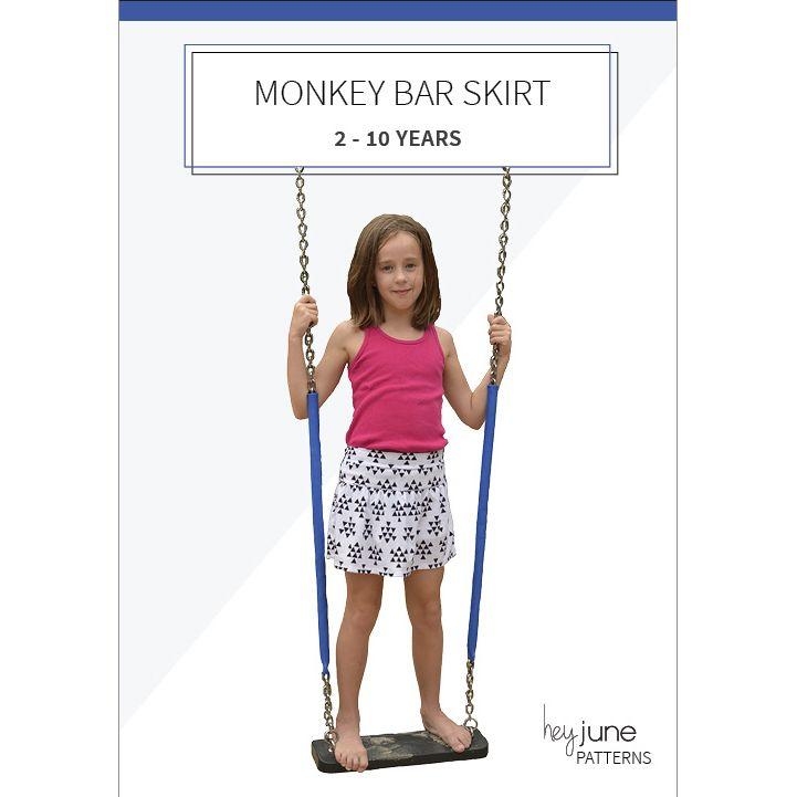 Monkey Bar Skirt | Coser a máquina | Pinterest | Nena, Coser y Perfecta