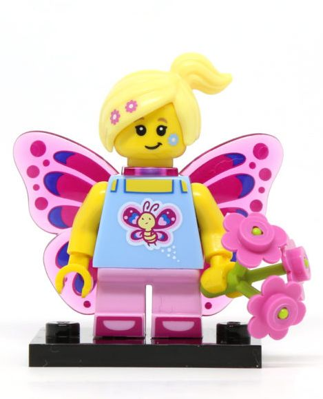 NEW Lego Minifigures Series 17-71018 Minifigure SEALED Set BUTTERFLY GIRL