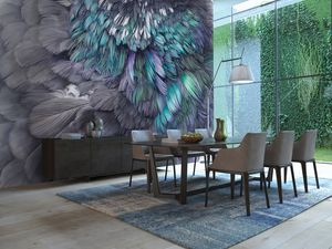 AR1 Feather Wall Interior design process, Interior