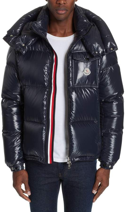 423e8a1f7 Moncler Montbeliard Giubbotto Stripe Puffer Coat   Products ...