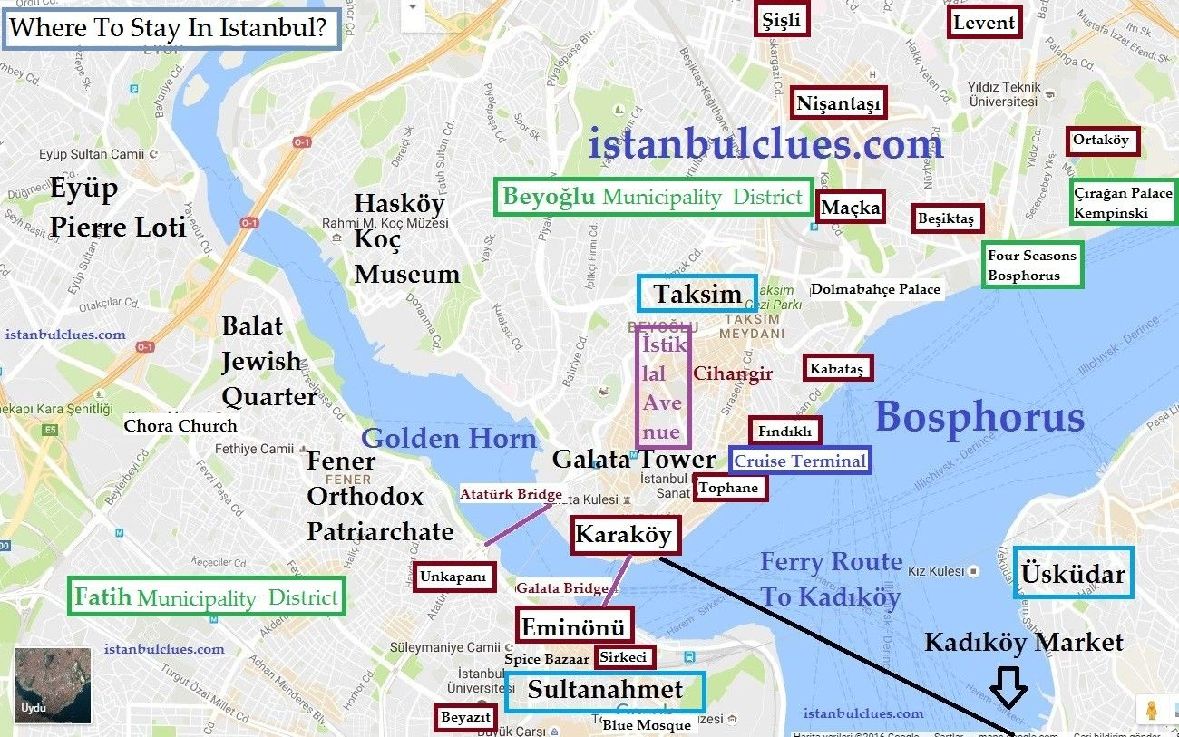 Istanbul Subway Map 2015.Where To Stay In Istanbul Old City Or Taksim Voyages Voyage In