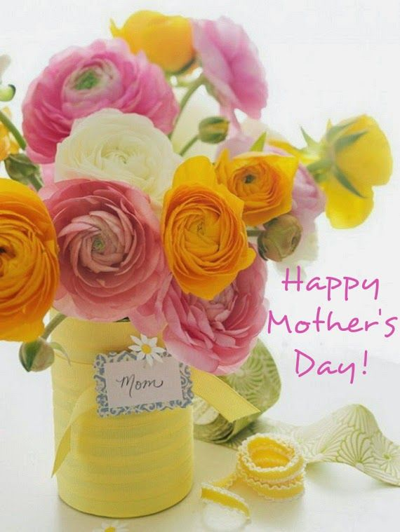 Happy Mother S Day Flower Decorations Mothers Day Flowers Flower Arrangements