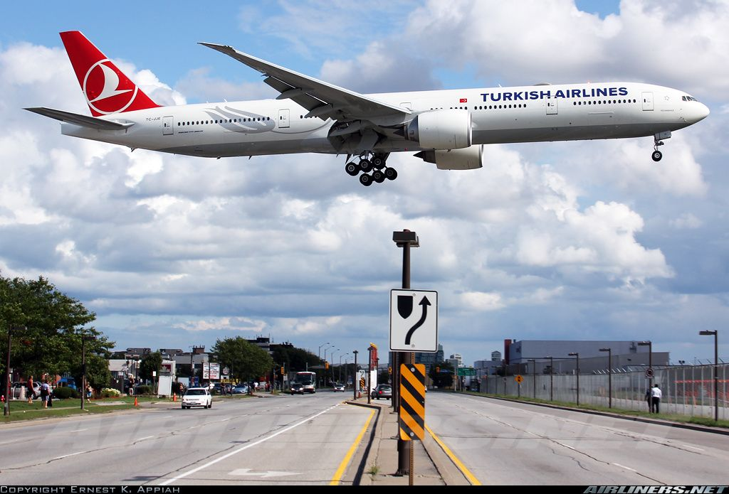 Boeing 7773F2/ER aircraft picture Boeing 777, Turkish