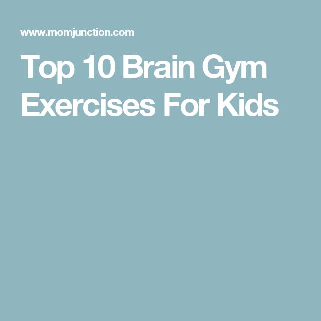 Top 10 Brain Gym Exercises For Kids | brain gym | Brain gym