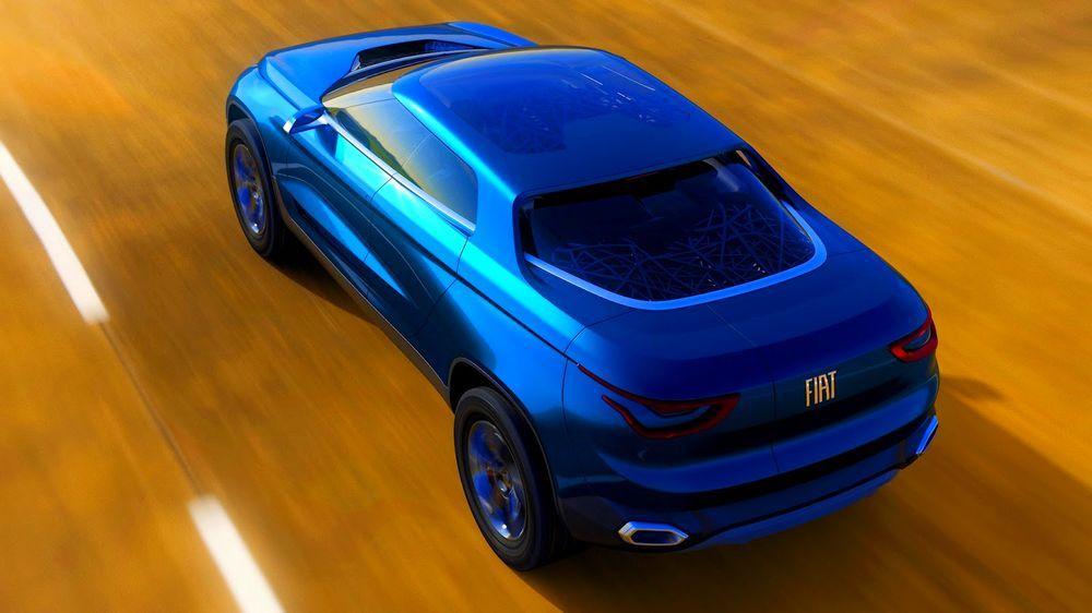 Release Fiat Concept Car IV FCC Review Top View Model