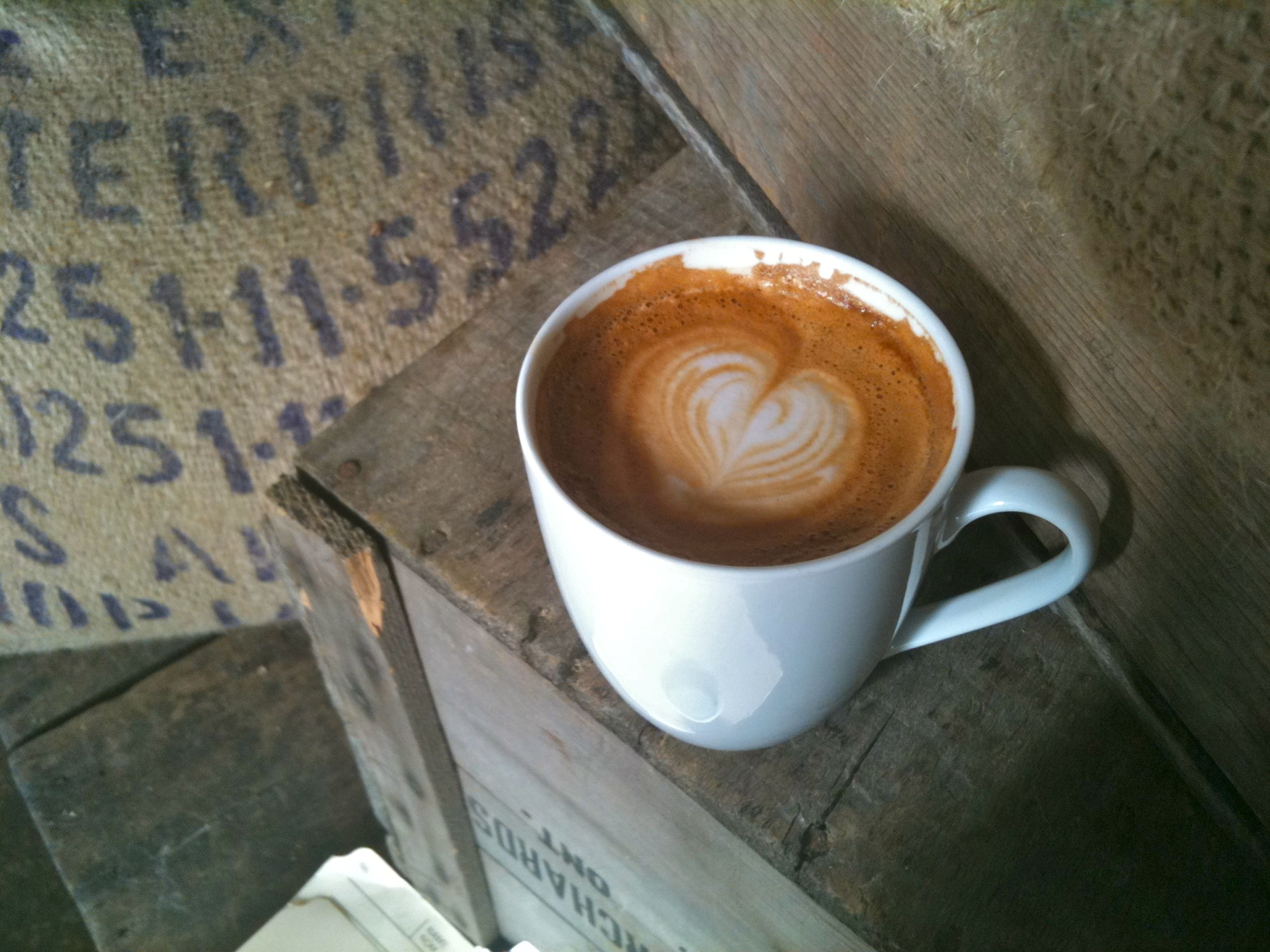 Latte At Te Aro 983 Queen Street East In Leslieville Toronto I Love Coffee Great Coffee Latte