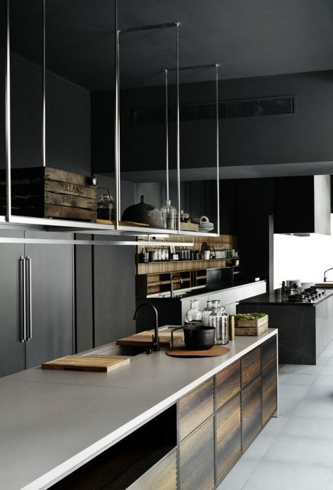 BOFFI_CODE KITCHEN Fitted #kitchen with island by @boffispa #design
