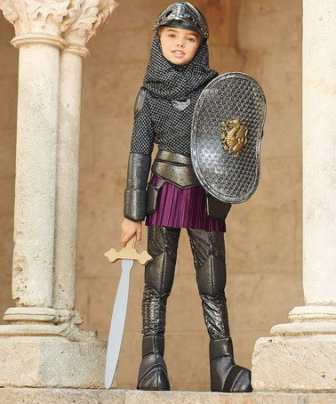 Look at this #zulilyfind! Joan of Arc Dress - Girls by chasing - angel halloween costume ideas