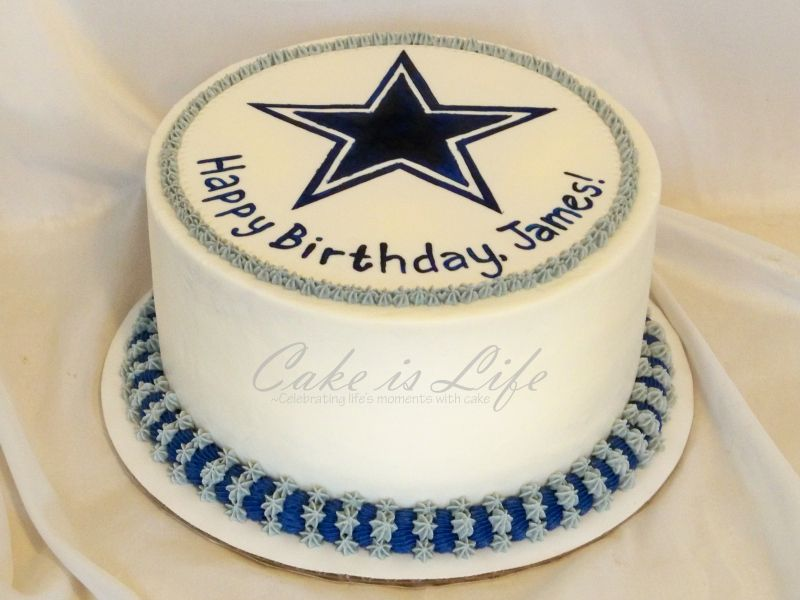 dallas cowboys cakes pictures Cowboys Birthday Cake 50th BDay