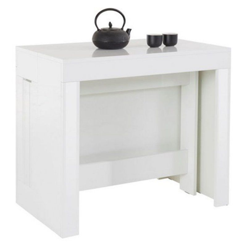 Furniture Agency Pratika Pull Out Dining Table Console Table