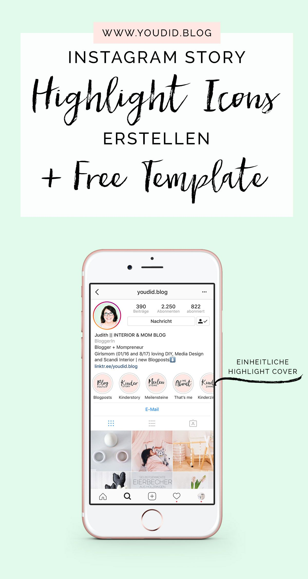 einheitliche instagram highlight cover erstellen free instagram story highlight icon template