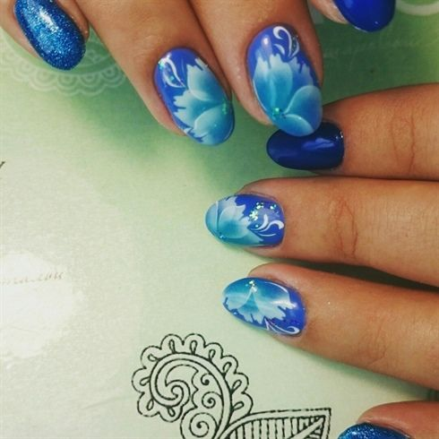 Nail Art From The Nails Magazine Nail Art Gallery Airbrushed