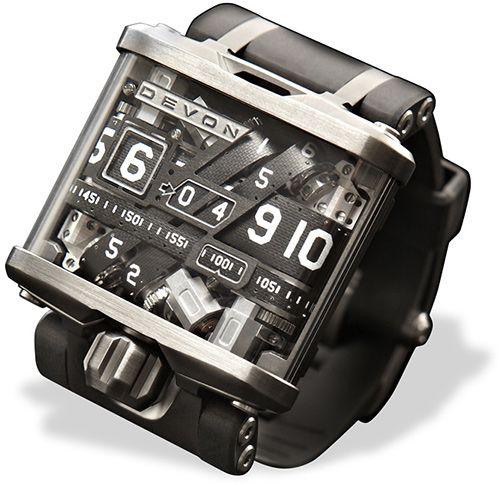 Devon tread 1 watch inspiration for Trainee produktdesign