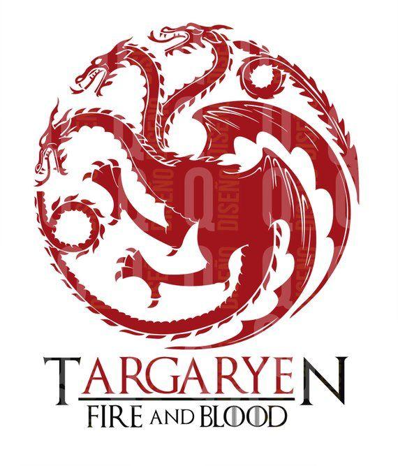 Targaryen Logo Mother Of Dragons Svg Daenerys Targaryen