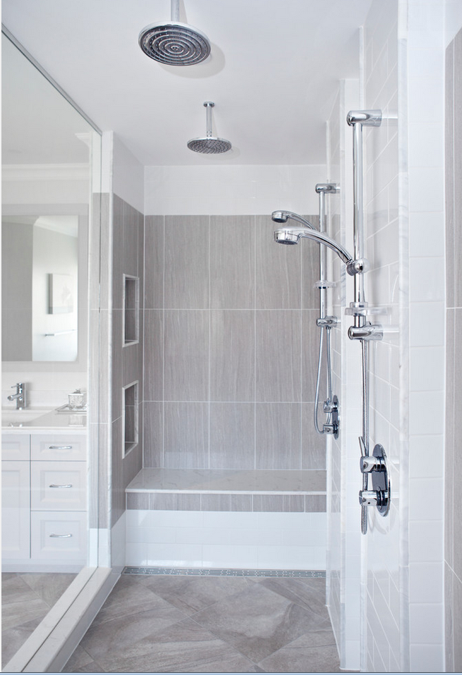Aquabrass Shower Column And Rainhead Featured In Concept Kitchen And Bath Bathroom Design